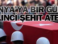 Bir günde Konya'ya ikinci şehit haberi