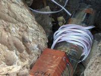 Ömerli'de 1,5 ton patlayıcı imha edildi