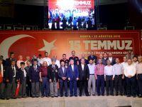 Konya'da Milli İrade Dayanışma Gecesi