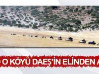 ÖSO sınıra 3 km uzaklıktaki Keklice'yi DAEŞ'ten aldı