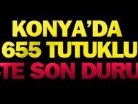 Konya'da Fetö'den 655 Kişi Tutuklandı