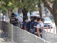 Cumhurbaşkanı'nın gelişi öncesi Gaziantep'te yoğun güvenlik önlemi