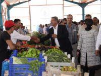 Başak Pazar Market törenle açıldı
