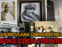 Mevlana Üniversitesi binasına girildi