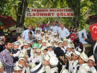 Akşehir Belediyesi 13. Geleneksel Sünnet Şöleni yapıldı