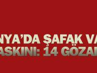Konya'da Şafak Vakti DaeşOperasyonu: 14 Gözaltı
