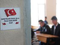15 Temmuz şehitlerinin isimleri Yunak İmam Hatip Lisesi sınıflarında yaşayacak