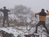 Kar erken yağdı, yaylalarda göç telaşı başladı