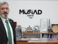 """Müsiad Konya Şube Başkanı Şimşek: """"Ekonomide Pozitif Hava Korunuyor"""""""
