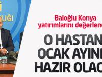 Baloğlu Konya yatırımlarını değerlendirdi