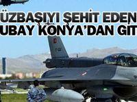 Yüzbaşıyı şehit eden astsubay, Konya'dan gitmiş