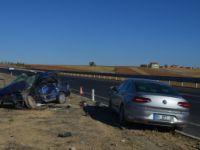 Konya'da İki Otomobil Çarpıştı: 2 Ölü
