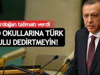 Erdoğan: FETÖ okullarına Türk okulu dedirtmeyin