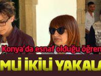 Gizemli ikili Kıbrıs'ta yakalandı
