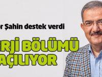 Rektör Şahin destek verdi: Enerji bölümü açılıyor