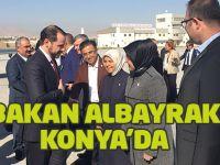 Berat Albayrak Konya'da...