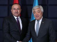 Dışişleri Bakanı Çavuşoğlu: Kazakistan'ın FETÖ ile mücadelede yanımızda olacağından eminiz