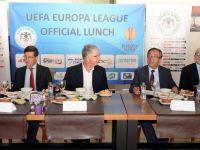UEFA maç yemeği yendi