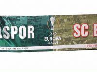 Braga maçına özel atkı