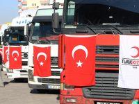Türk Kızılayından Musul'a 500 ton insani yardım