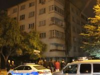 Konya'da yıkılma tehlikesi olan bina boşaltıldı