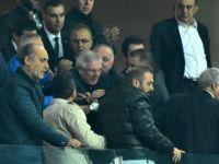 Aziz Yıldırım, Konyaspor taraftarı tartıştı