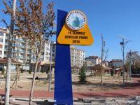 Karatay Belediyesi'nden 15 Temmuz Şehitler Parkı