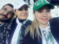 Fatma Hanım Konyaspor Maçında