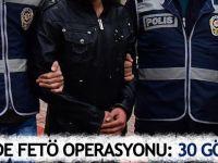 12 ilde FETÖ operasyonu: 30 gözaltı