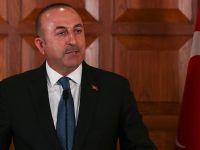 Dışişleri Bakanı Çavuşoğlu: Rakka operasyonunda YPG-PKK teröristleri yerel güç sayılmaz