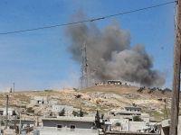 Esed rejimi ve Rus jetleri Cisr eş-Şuğur'u vuruyor