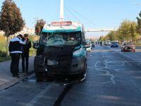 Konya'da lise öğrencilerine çarpan minibüs sürücüsü serbest!