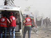 Suriye'de rejim Duma'yı füzelerle vurdu:9 ölü
