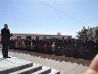 Akpınar'dan okul ziyareti
