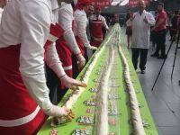 Oses'ten Guinness  için 231 metrelik  çiğ köfte
