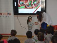 Medova'dan çocuklara diş sağlığı eğitimi