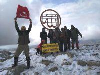 Konyalı dağcılar, Yalı Dağı'na tırmandı