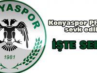 Konyaspor PFDK'ya sevk edildi