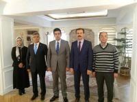 KONMUHDER'den Emniyet Müdürü Yaman'a Ziyaret