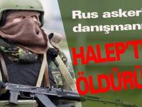 Rus askeri danışman Halep'te öldürüldü