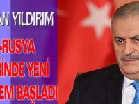 Başbakan Yıldırım: Türkiye-Rusya ilişkilerinde yeni bir dönem başladı