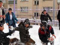 Ordu Akkuş'ta eğitime kar engeli