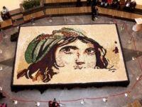 Mozaik baklava ile dünya rekoru