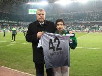 Konyaspor şehit polis Fethi Sekin'i unutmadı