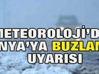 Konya'ya Meteorolojik Uyarı: Buzlanmaya dikkat!