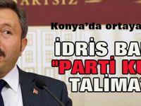 "Konya'da ortaya çıktı:FETÖ'den İdris Bal'a ""parti kur"" talimatı"
