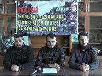 Suriye'ye çadırkent kuruyor