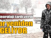Meteoroloji Konya'yı uyardı: Kar yeniden geliyor