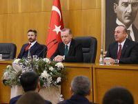 Erdoğan: Meydanlarda yer almamıza mani bir hal yok VİDEO HABER