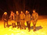 Dağda Kamp Yapan Üç Kişi Kurtarıldı
